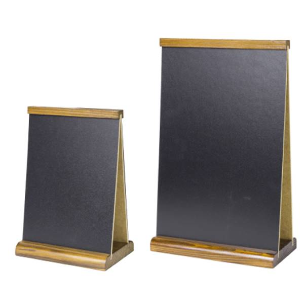 Menu de table ardoise double face A-Boards