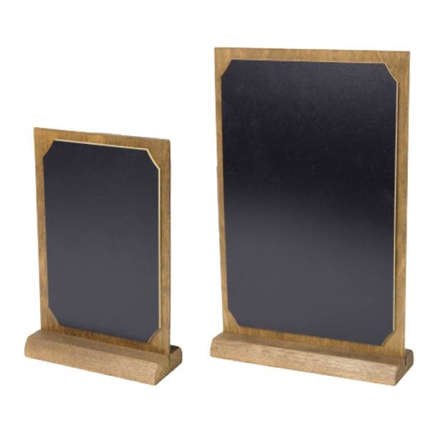 Menu de table ardoise double face Frame-Boards