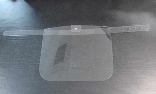 vitre de protection visage